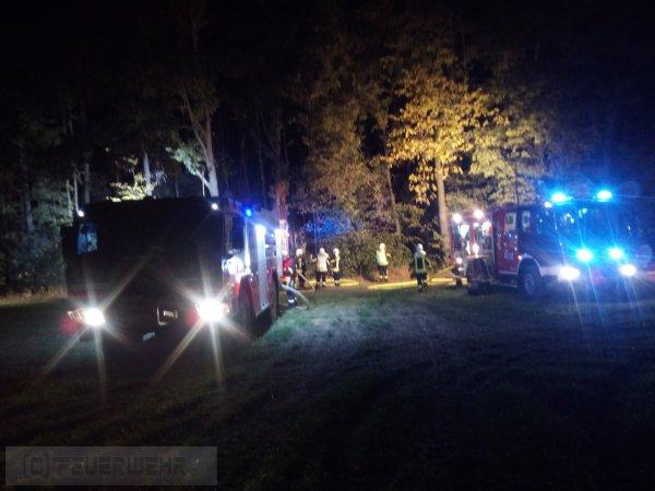 Brandeinsatz vom 10.10.2018  |  (C) Feuerwehr (2018)