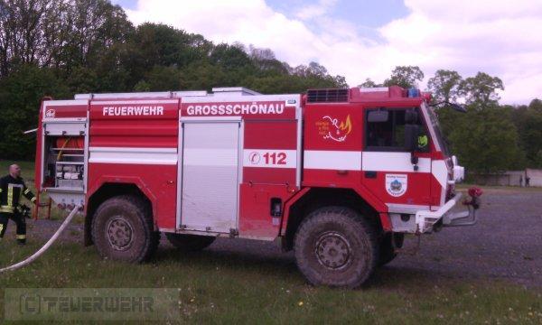Brandeinsatz vom 16.05.2020     (C) Feuerwehr (2020)