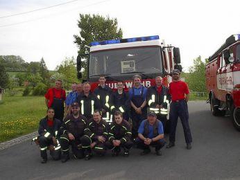 Ausbildung der Feuerwehr