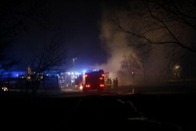 Brandeinsatz Waltersdorf 10-11-2010 Bild 1