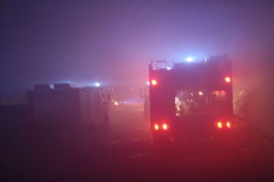 Brandeinsatz Waltersdorf 10-11-2010 Bild 2