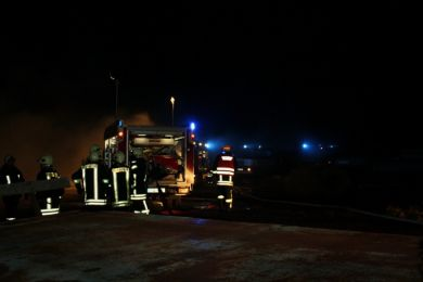 Brandeinsatz Waltersdorf 10-11-2010 Bild 6