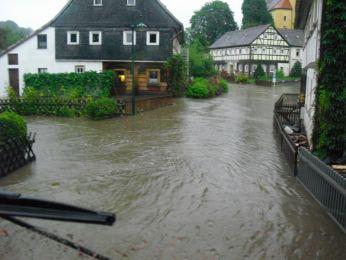 Hochwasser August 2010 Bild 110