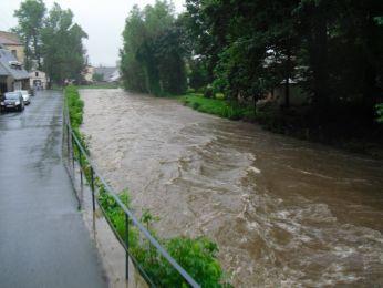 Hochwasser August 2010 Bild 12