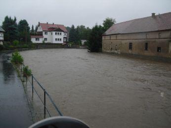 Hochwasser August 2010 Bild 20