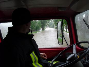 Hochwasser August 2010 Bild 27