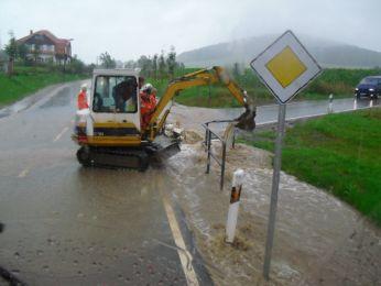 Hochwasser August 2010 Bild 32