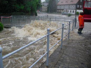 Hochwasser August 2010 Bild 42