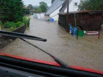 Hochwasser August 2010 Bild 51