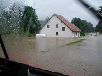 Hochwasser August 2010 Bild 54