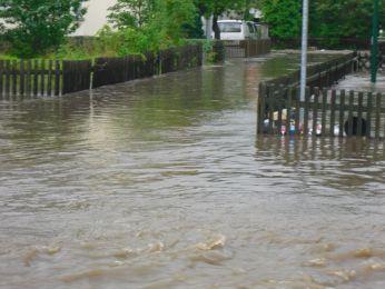 Hochwasser August 2010 Bild 74
