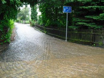 Hochwasser August 2010 Bild 9