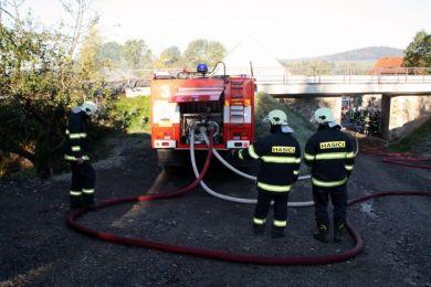 Einsatzuebung Hainewalde 17-10-2010 Bild 12