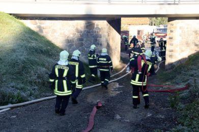 Einsatzuebung Hainewalde 17-10-2010 Bild 14