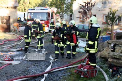 Einsatzuebung Hainewalde 17-10-2010 Bild 30