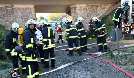 Einsatzuebung Hainewalde 17-10-2010 Bild 38