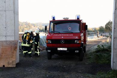 Einsatzuebung Hainewalde 17-10-2010 Bild 39