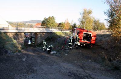 Einsatzuebung Hainewalde 17-10-2010 Bild 45