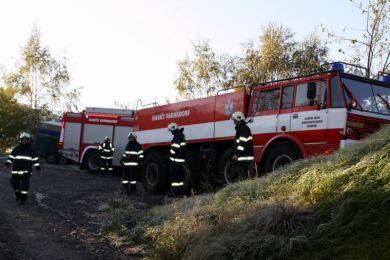 Einsatzuebung Hainewalde 17-10-2010 Bild 48