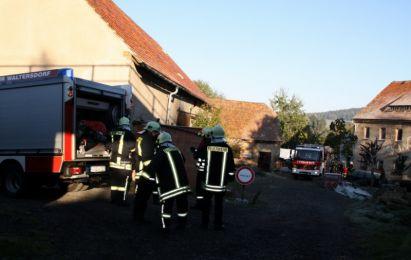 Einsatzuebung Hainewalde 17-10-2010 Bild 52