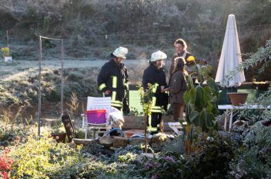 Einsatzuebung Hainewalde 17-10-2010 Bild 9