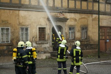 Einsatzuebung Steinmuehle 15-05-2010 Bild 19